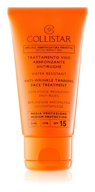 Collistar Sun Protection крем для засмаги проти старіння шкіри SPF 15