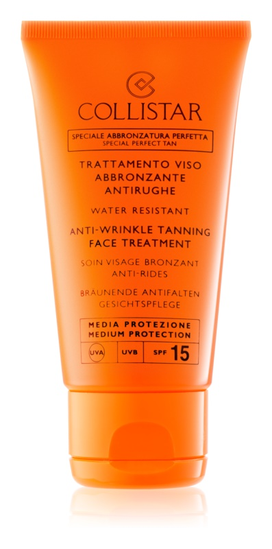 Collistar Sun Protection crema abbronzante anti-age SPF 15
