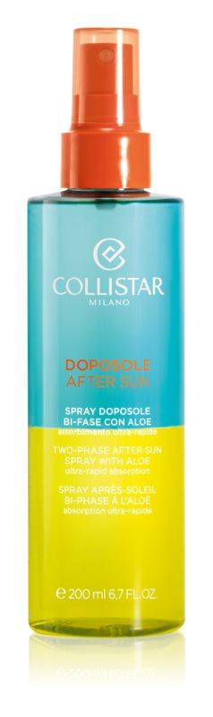 Collistar After Sun testápoló olaj napozás után