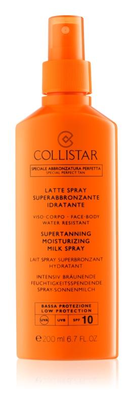 Collistar Sun Protection mléko na opalování ve spreji SPF 10