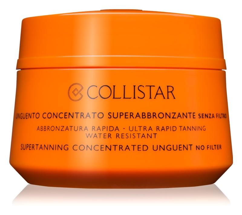 Collistar Sun No Protection συμπυκνωμένη αντηλιακή αλοιφή  χωρίς προστατευτκό παράγοντα