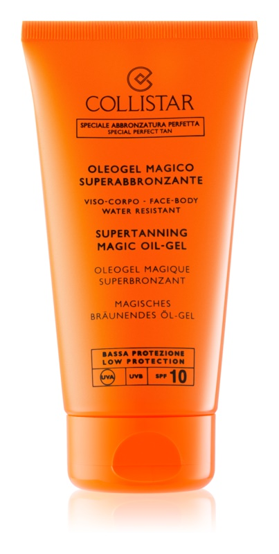 Collistar Sun Protection Supertanning Magic Oil-Gel