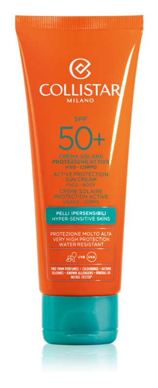 Collistar Sun Protection Protective Sun Cream SPF 50+