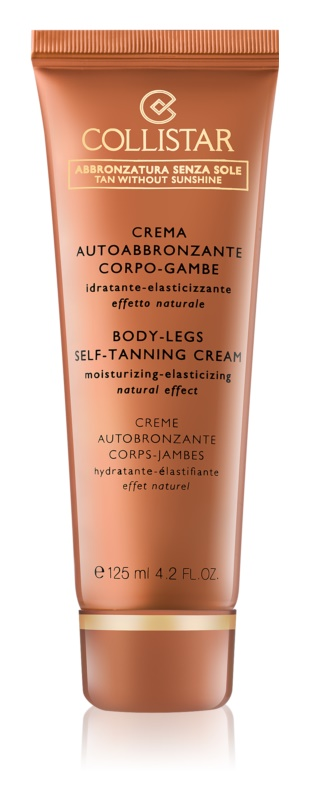 Collistar Tan Without Sunshine Self - Tanning Cream For Body And Legs
