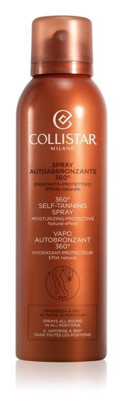 Collistar Self Tanners spray autoabbronzante
