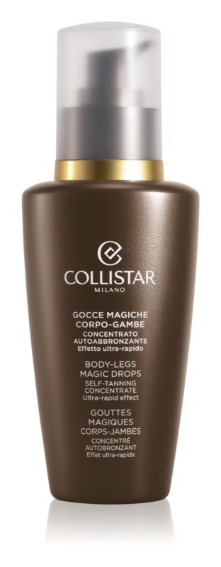 Collistar Self Tanners Self Tan Emulsion For Body And Legs