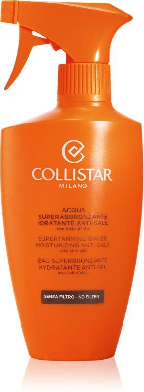 Collistar Sun No Protection vlažilno pršilo za pospešitev porjavelosti z aloe vero