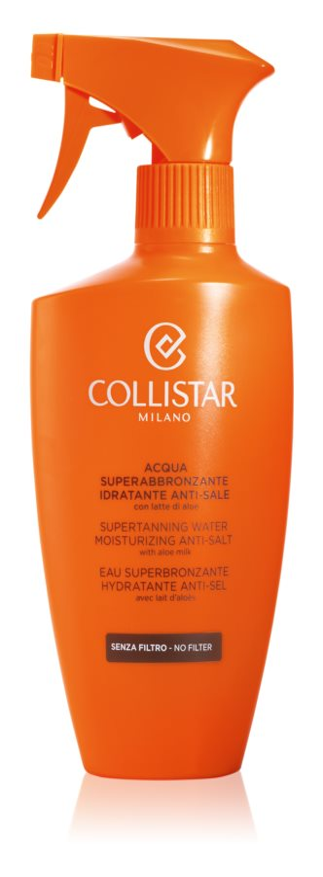 Collistar Sun No Protection ενυδατικό σπρέι που βελτιστοποιεί το μαύρισμα με αλόη βέρα