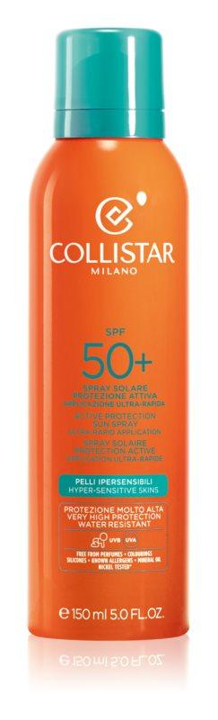 Collistar Sun Protection spray protettivo viso e corpo SPF 50+