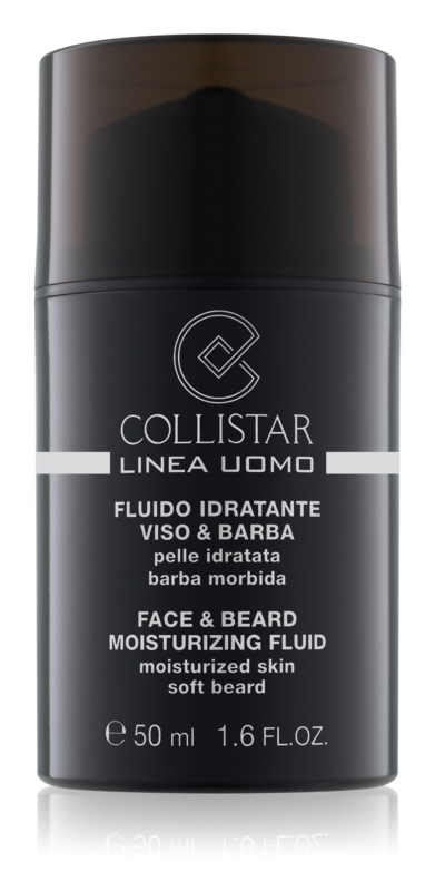 Collistar Man hydratačný fluid na tvár a fúzy
