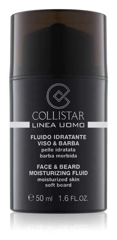 Collistar Man Moisturizing Fluid for Face and Beard
