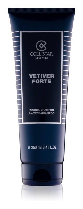 Collistar Vetiver Forte Douchegel voor Mannen 250 ml