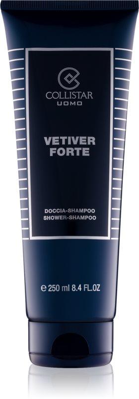 Collistar Vetiver Forte gel douche pour homme 250 ml