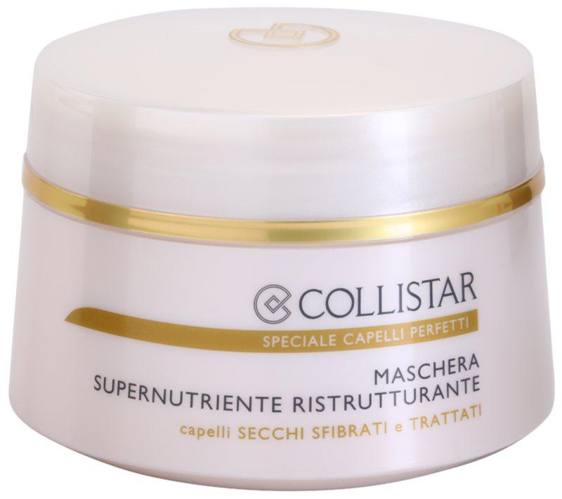 Collistar Special Perfect Hair nährende, regenerierende Maske für trockenes und zerbrechliches Haar