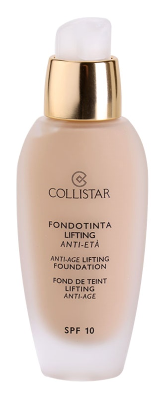 Collistar Foundation Anti-Age Lifting tekoči puder z lifting učinkom SPF 10