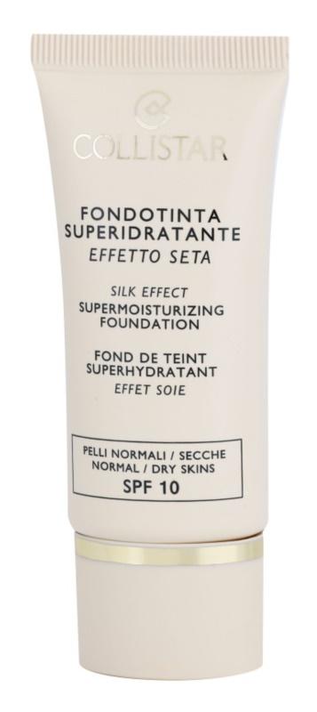 Collistar Foundation Supermoisturizing hydratační make-up SPF 10