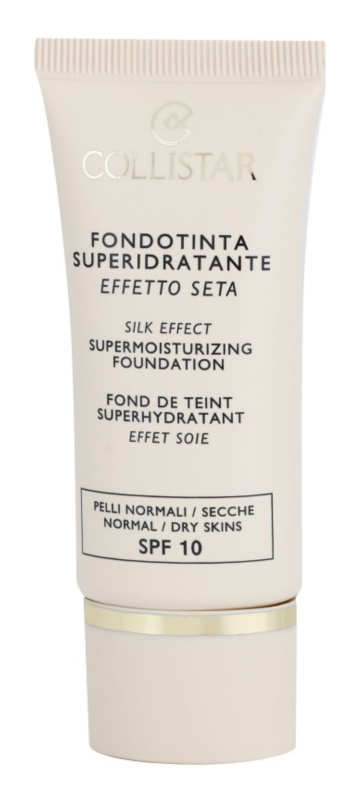 Collistar Foundation Supermoisturizing Hydrating Foundation SPF 10