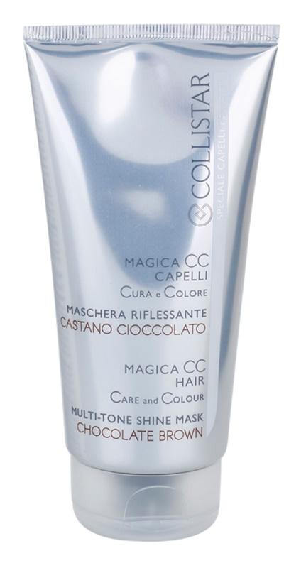Collistar Magica CC máscara nutritiva com cor para o cabelo castanho escuro e castanho claro