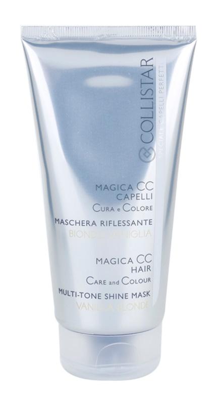 Collistar Magica CC tápláló tonizáló maszk a nagyon világos szőke, melírozott és fehér hajra