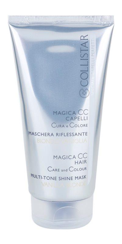 Collistar Magica CC vyživujúca tónovacia maska pre veľmi svetlú blond, melírované a biele vlasy