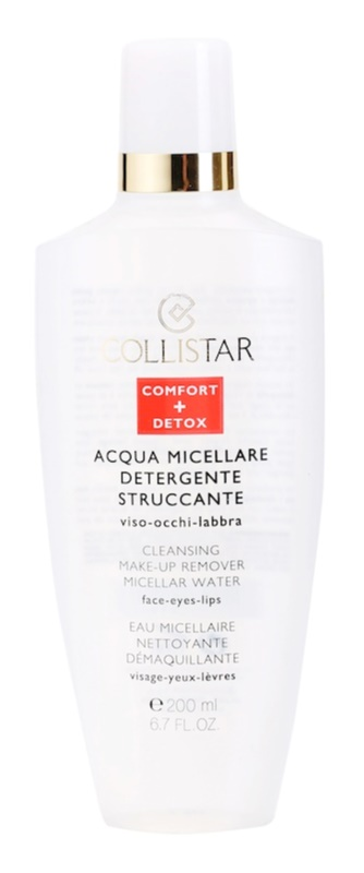 Collistar Make-up Removers and Cleansers odličovací micelární voda
