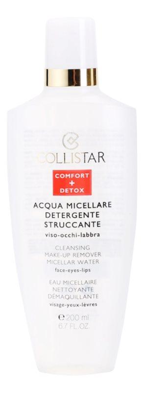 Collistar Make-up Removers and Cleansers odličovacia micelárna voda