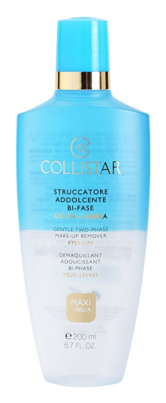 Collistar Make-up Removers and Cleansers démaquillant waterproof pour yeux et lèvres