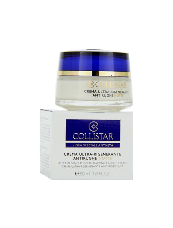 Collistar Special Anti-Age Anti-Rimpel Nachtcrème  voor Rijpe Huid