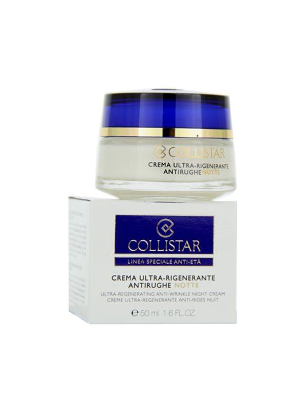 Collistar Special Anti-Age nočna krema proti gubam za zrelo kožo