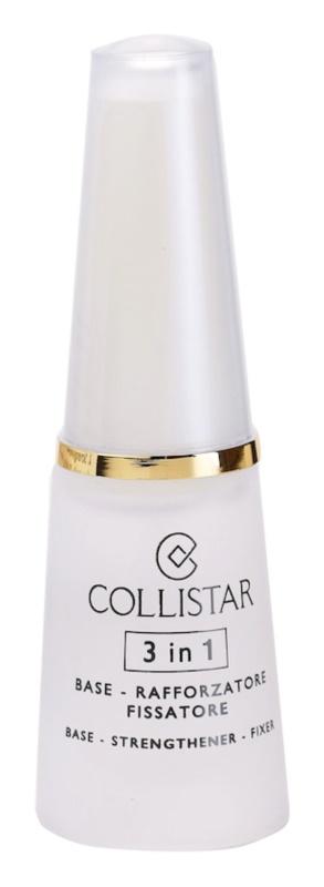 Collistar Nails Base posilující lak na nehty 3 v 1