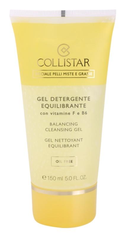 Collistar Special Combination And Oily Skins tisztító gél F- és B6-vitaminnal