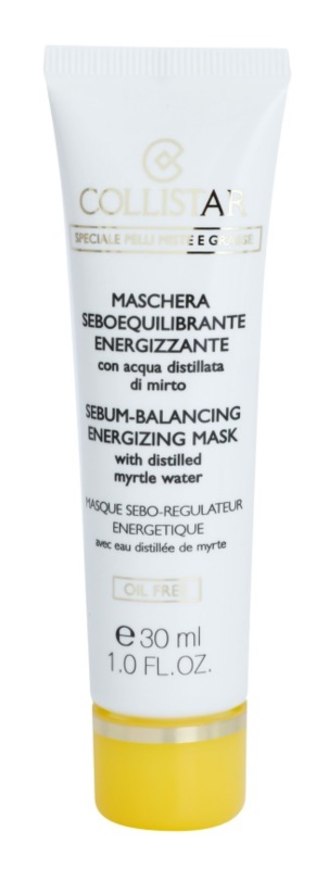 Collistar Special Combination And Oily Skins mascarilla para pieles grasas