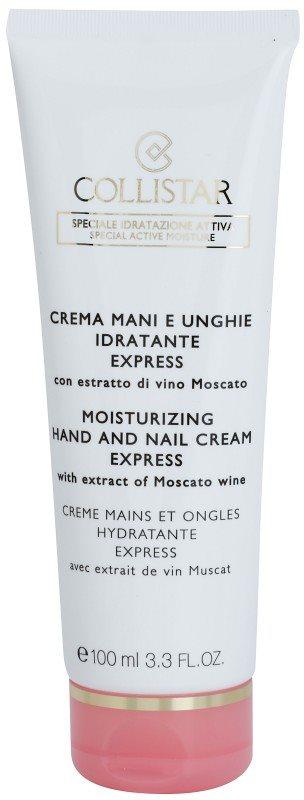 Collistar Special Active Moisture crema hidratante para manos y uñas con efecto iluminador