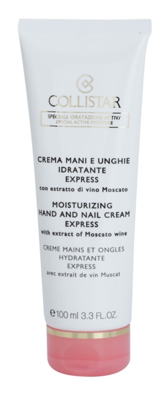 Collistar Special Active Moisture Moisture Hand And Nail Cream Express