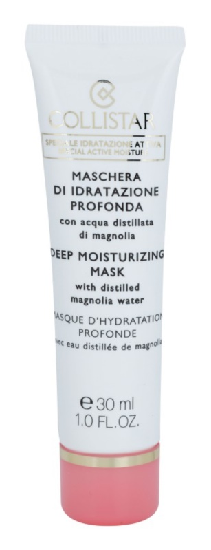 Collistar Special Active Moisture masque hydratant illuminateur