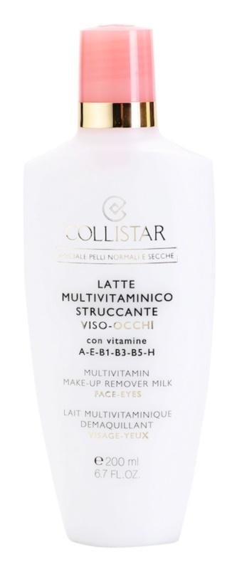 Collistar Special Active Moisture lapte demachiant pentru piele normala si uscata