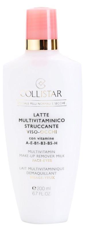 Collistar Special Active Moisture odličovacie mlieko pre normálnu a suchú pleť