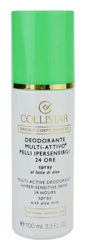 Collistar Special Perfect Body deodorant spray pentru piele sensibila