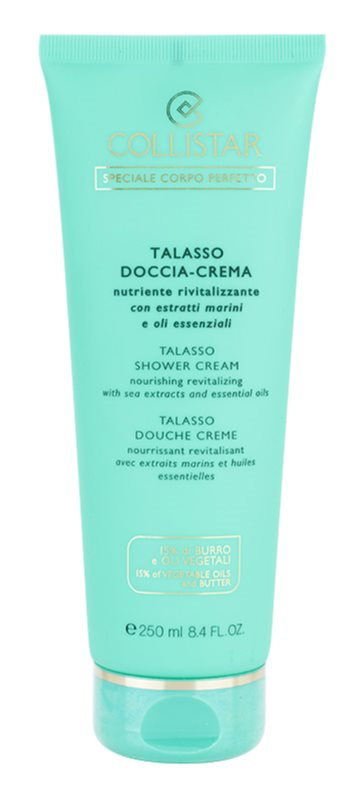 Collistar Special Perfect Body Nourishing And Revitalizing Shower Cream With Sea Extracts And Essential Oils