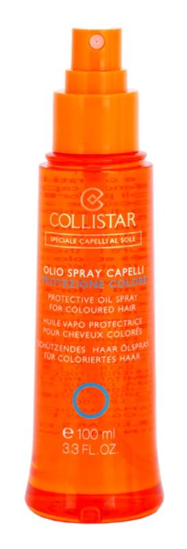 Collistar Hair In The Sun ochranný olej na vlasy proti slunečnímu záření pro barvené vlasy
