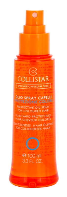 Collistar Hair In The Sun  олійка для захисту волосся від негативного впливу сонячного випромінювання для фарбованого волосся