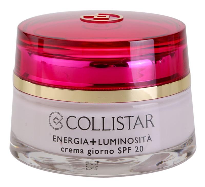 Collistar Special First Wrinkles crema de zi pentru contur  SPF 20