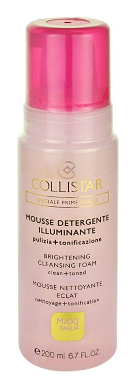 Collistar Special First Wrinkles čistiaca pena  pre citlivú pleť
