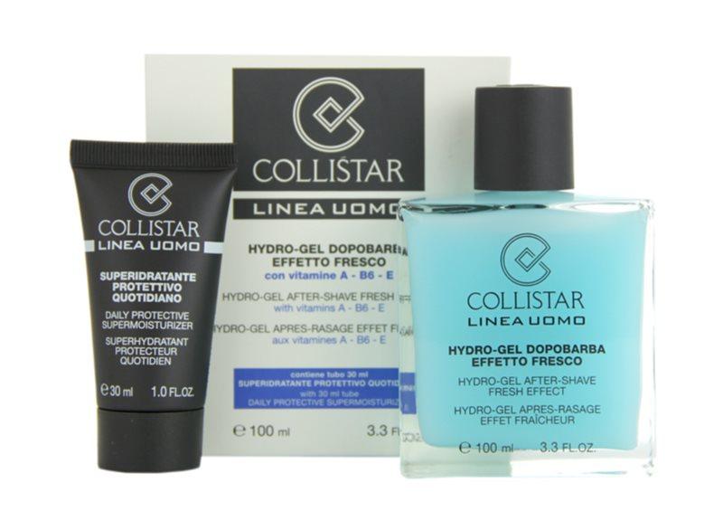 Collistar Man gel après-rasage + crème de jour hydratante pour tous types de peau