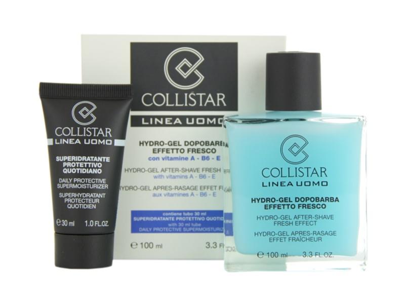 Collistar Man gel za britje + dnevna vlažilna krema za vse tipe kože
