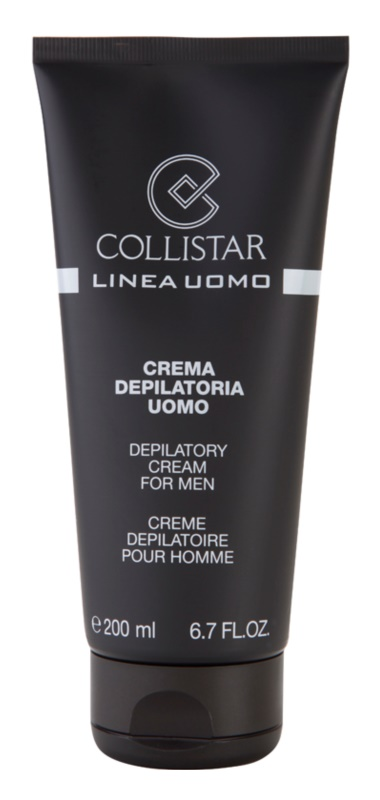 Collistar Man Hair Removal Cream For Men Notino Co Uk