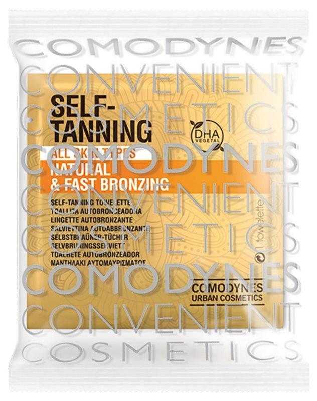 Comodynes Self-Tanning toallita autobronceadora 8 uds