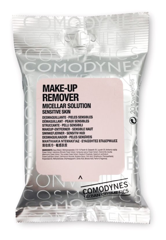 Comodynes Make-up Remover Micellar Solution toallitas desmaquillantes para pieles sensibles