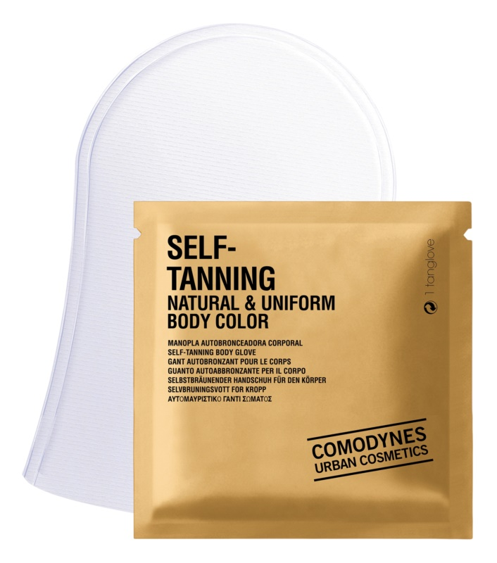 Comodynes Self-Tanning рукавички для нанесення автозасмаги для тіла