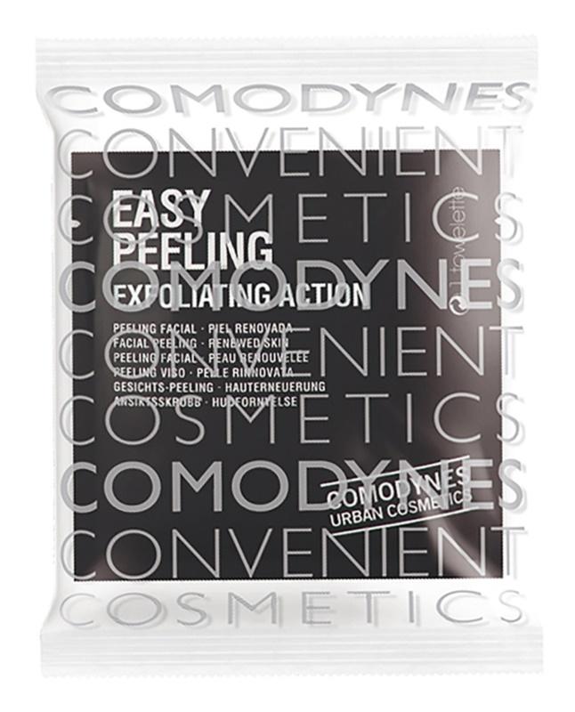 Comodynes Easy Peeling toalhetes exfoliantes para o rosto